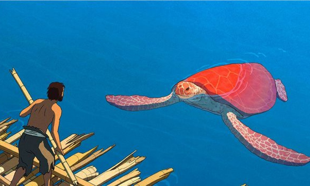 Illustration : tortue rouge